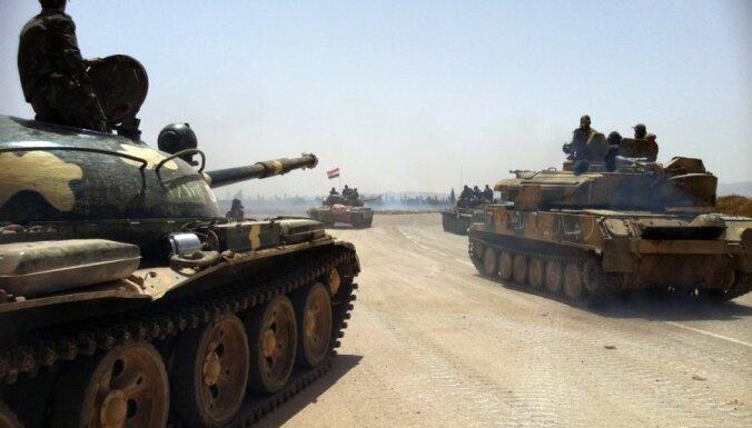 Avoti: Sīrijas armija gatavojas lielam uzbrukumam Alepo