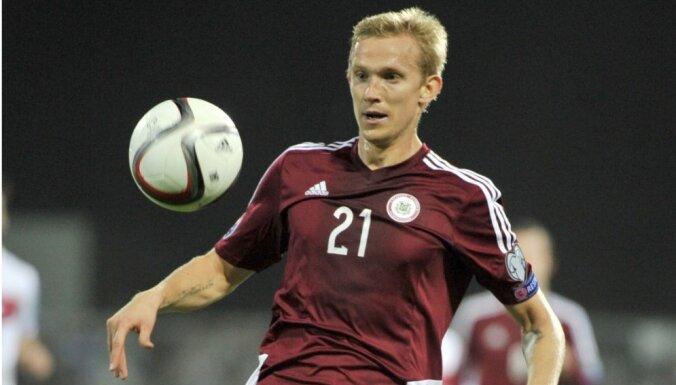 Latvijas izlases aizsargs Freimanis: zaudējums Gibraltāram nav saprotams nevienam