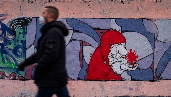 Коронавирус в мире: тихий Новый год с жестким локдауном, полицией и комендантским часом