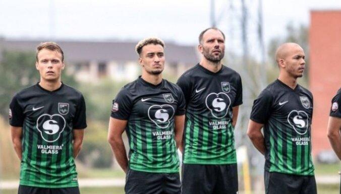 'Valmiera Glass'/ViA futbolisti pret čempioniem 'Spartaks' negaidīti izcīna pirmo uzvaru sezonā