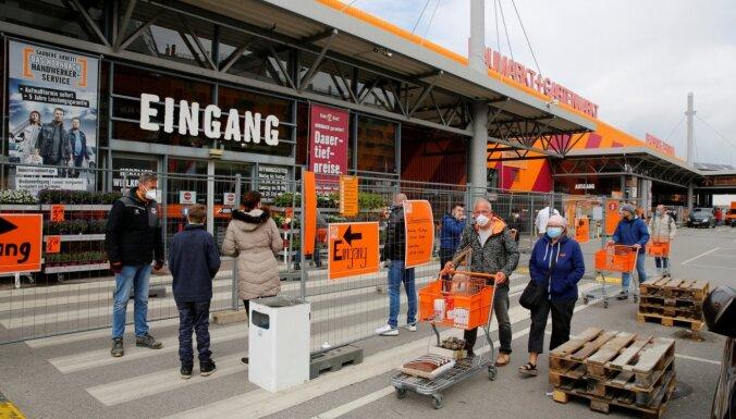 Covid-19: Austrijā daudzi slēgtie veikali atsāk darbu