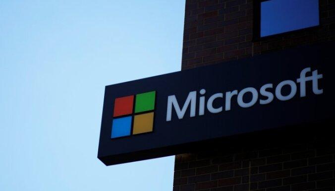'Microsoft' aptur ziedojumus politiķiem, kas neatzina Baidena uzvaru vēlēšanās
