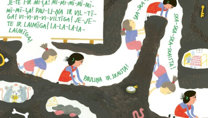 Izdota Zanes Volkinšteines grāmata bērniem 'Bīstamais dārziņš'