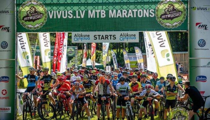 'Vivus.lv MTB Maratons 2021' sacensības 25. jūlijā turpinās Alūksnē