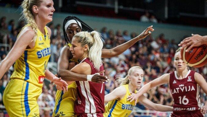 Zviedrija sev mājīgā atmosfērā Rīgā izslēdz Latviju no Eiropas čempionāta