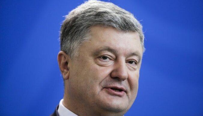 Порошенко рассказал о санкциях ЕС из-за Крымского моста