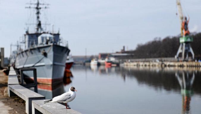 Во вторник в Лиепайский порт прибудет паром с репатриированными жителями Латвии
