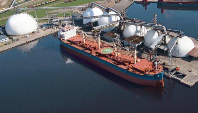 Oktobrī Rīgas ostā rekordaugsts kravu apgrozījums