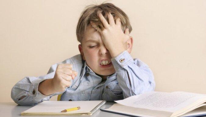 Bērnu tipi, kuriem skolā varētu būt sarežģīti mācīties