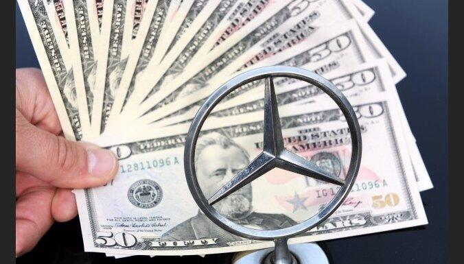 'Daimler' atzīst kukuļdošanu vairākās valstīs, arī Latvijā