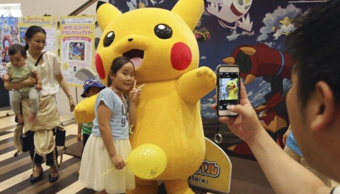 'Pokemon Go' dubulto 'Nintendo' vērtību un palīdz apsteigt 'Sony'