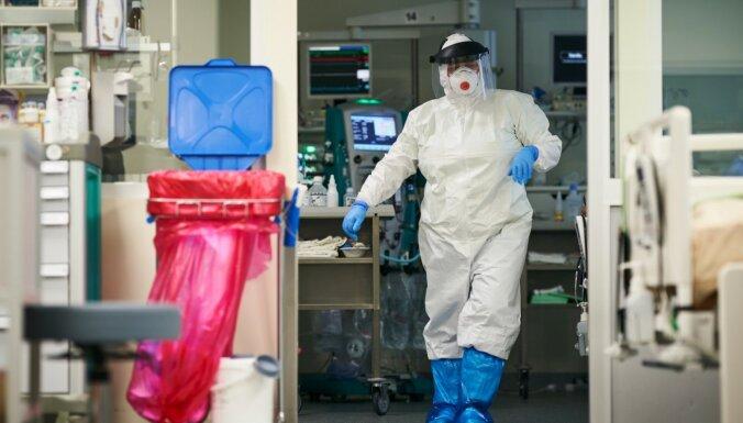 Ceturtdien stacionēti 76 Covid-19 pacienti