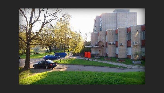КАРТА: Так выглядит зеленый дворик Риги, через который хотят провести новую улицу
