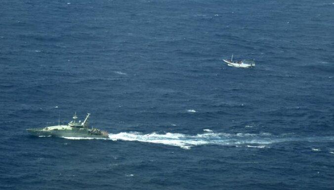 Avarējot bēgļu laivai, Egejas jūrā noslīkuši 25 cilvēki