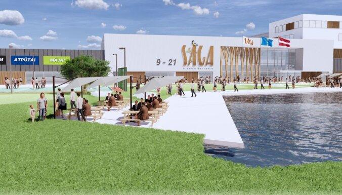 Lielveikals 'Sāga' Rīgā tiks atklāts novembrī; plāno 500 jaunas darbavietas