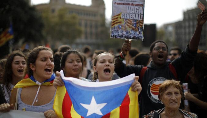 Katalāņu neatkarības līderu notiesāšana ir vēsturiska kļūda, paziņo ministrs