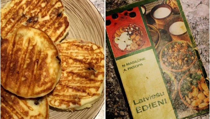Biezpiena plācenīši no pavārgrāmatas 'Latviešu ēdieni'
