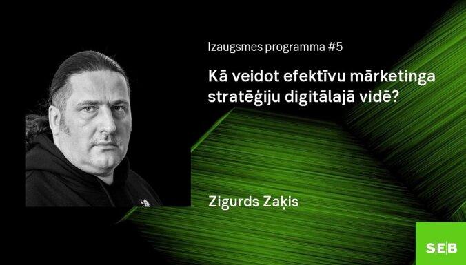 Notiks Izaugsmes programmas lekcija uzņēmējiem par digitālā mārketinga tēmu 'Kā veidot efektīvu mārketinga stratēģiju digitālajā vidē'