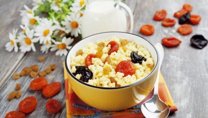 Veselīga putra ne tikai no auzu pārslām: četri graudaugu produkti maltīšu dažādībai