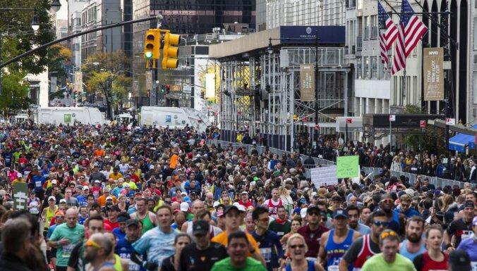 Atcelti šī gada maratoni Ņujorkā un Berlīnē