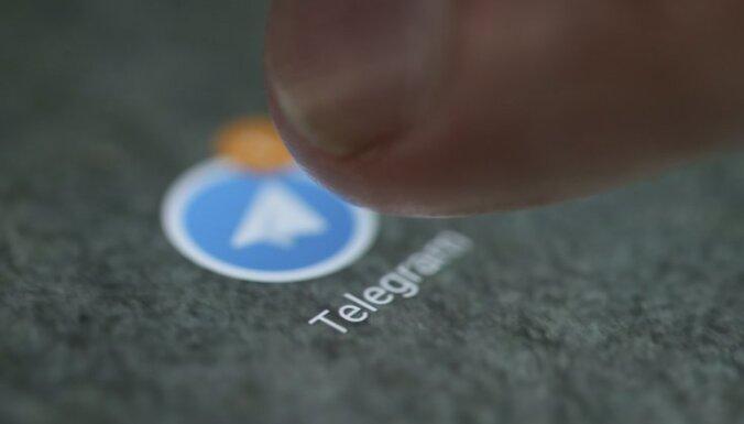 Krievijas tiesa uzdod bloķēt 'Telegram'