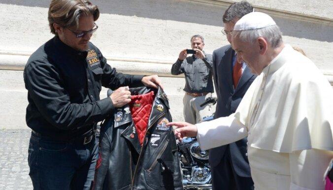 Папа Римский благословил байкеров (фото, видео)