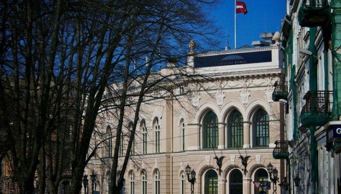 Прибыль монетарных финансовых учреждений за первые полгода составила 120,3 млн евро