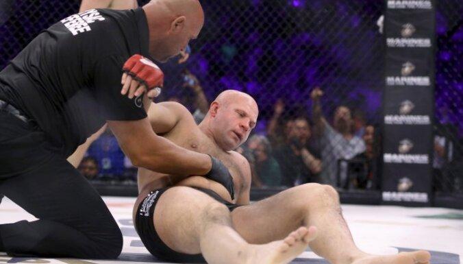 Fedor Emelianenko after knockout Matt Mitrione