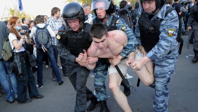 Беспорядки в Москве: задержано около 500 человек