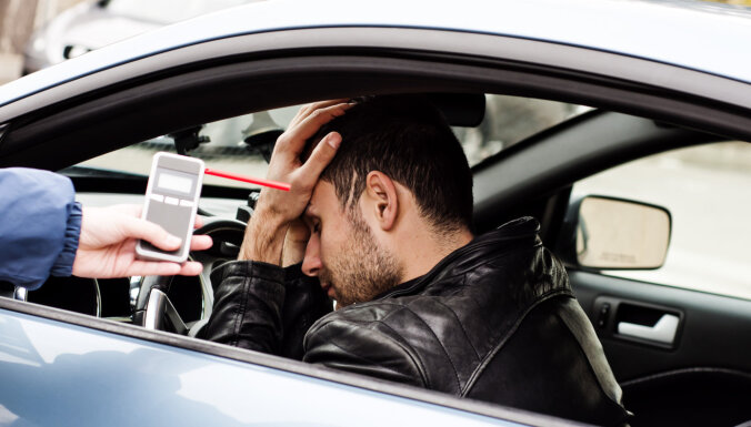 ВИДЕО. Как Дорожная полиция ловила пьяных водителей