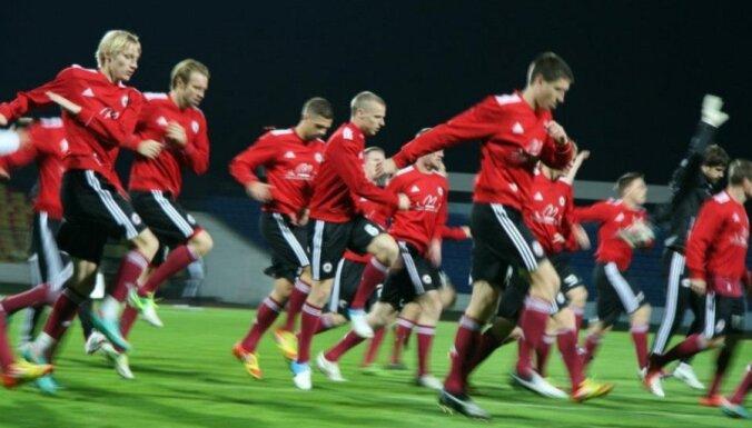 В Доху сборная Латвии улетела без Горкша и с одним нападающим
