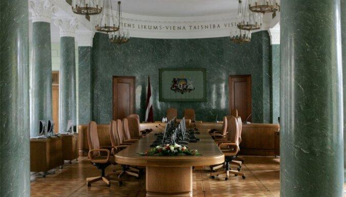 В декабре работу правительства положительно оценивали 23% латвийцев