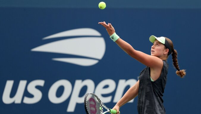 Ostapenko un Sevastova sasniedz 'US Open' dubultspēļu astotdaļfinālu
