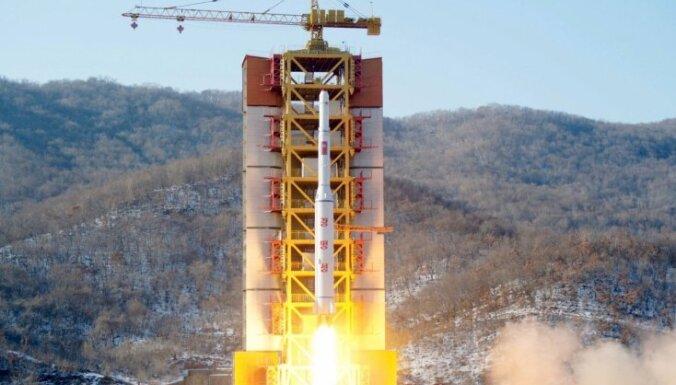Ziemeļkoreja sākusi demontēt raķešu izmēģināšanas centru
