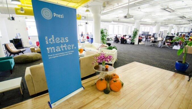 'Infogr.am' pircējs 'Prezi' savu jaunāko biroju veidos Rīgā
