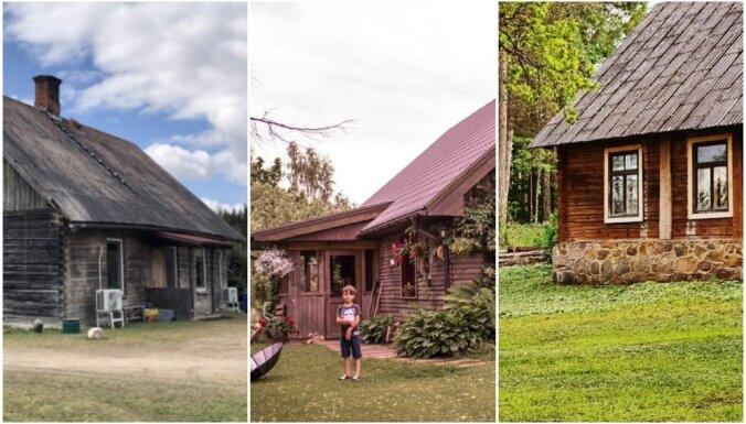 Piepildīt sapni par lauku māju. Trīs iedvesmojošu ģimeņu stāsti