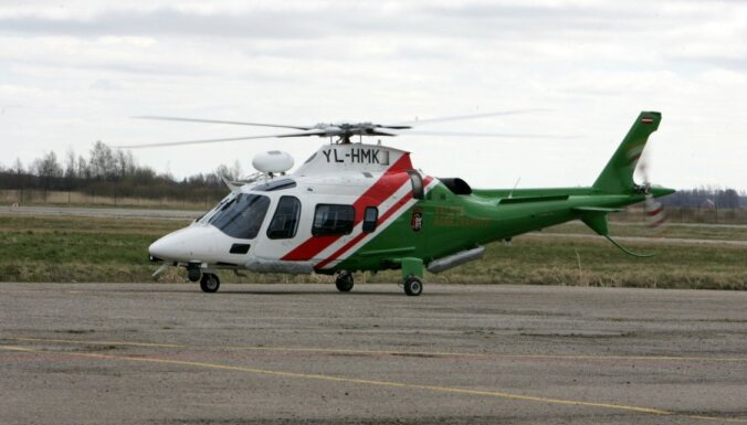 Латвия купит у Финляндии 39-летний вертолет