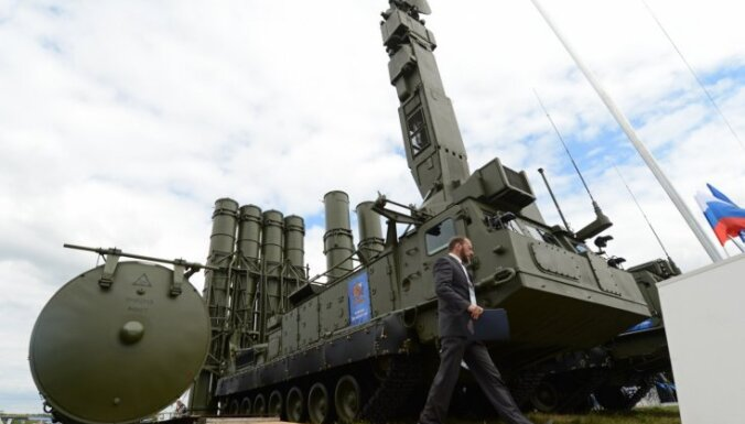 Krievija Sīrijā izvieto modernas pretraķešu aizsardzības sistēmas
