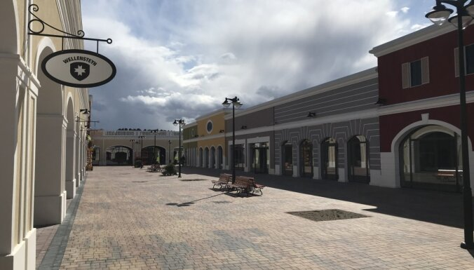 Izziņo 'Via Jurmala Outlet Village' atklāšanas datumu