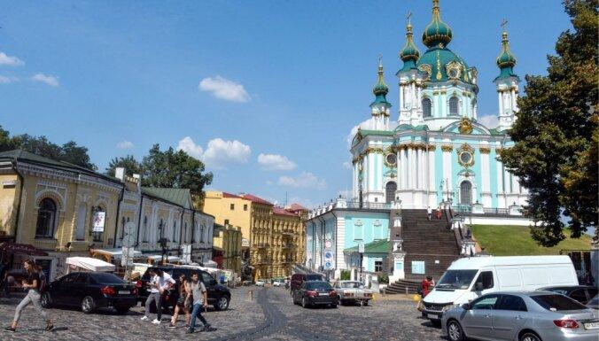 Konstantinopoles patriarhāts lietošanā saņem Kijevas Svētā Andreja baznīcu