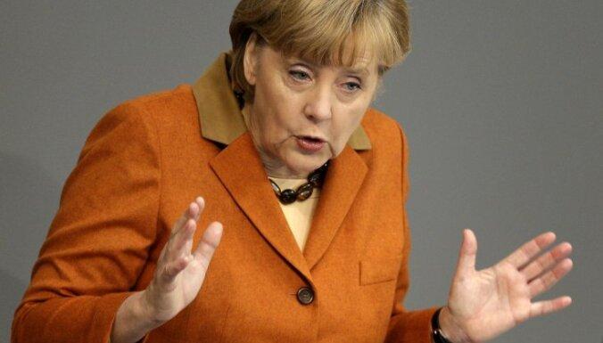 Merkele: ekonomikai gaidāmi grūtāki laiki