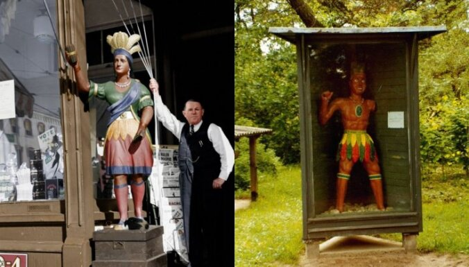 Atskats vēsturē: kāds ir noslēpumainā indiāņa stāsts Piejūras brīvdabas muzejā