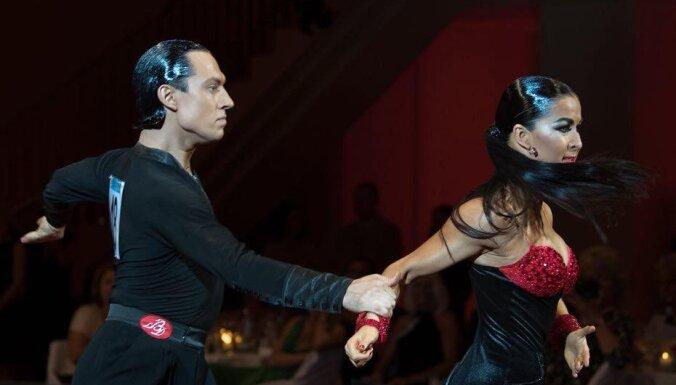 Танцоры Смалко и Базикина — трехкратные вице-чемпионы мира по латине среди профи