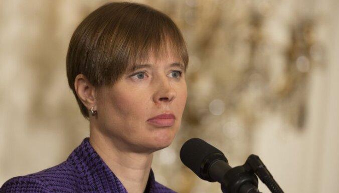 МИД Эстонии вызвал посла России из-за керченского кризиса; Кальюлайд заявила о войне
