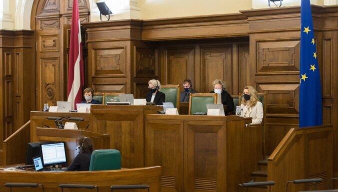 Atbildīgā Saeimas komisija atbalsta jaunā Pašvaldību likuma projektu pirmajam lasījumam