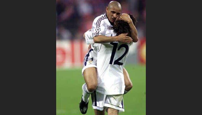 """Игроки """"Реала"""" празднуют победу"""