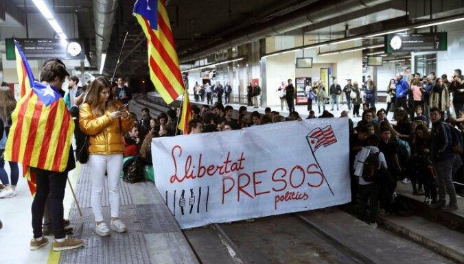 В Каталонии проходят акции против ареста лидеров региона