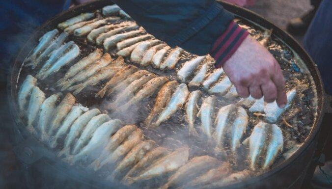 В Лиепае прошел традиционный Праздник корюшки
