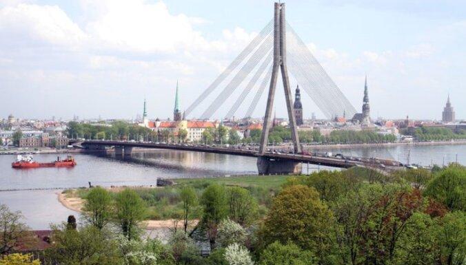 ДТП в Пардаугаве: движение под Вантовым мостом возобновлено