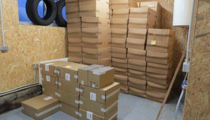 Полиция раскрыла подпольный спиртзавод и изъяла более 3 млн. сигарет